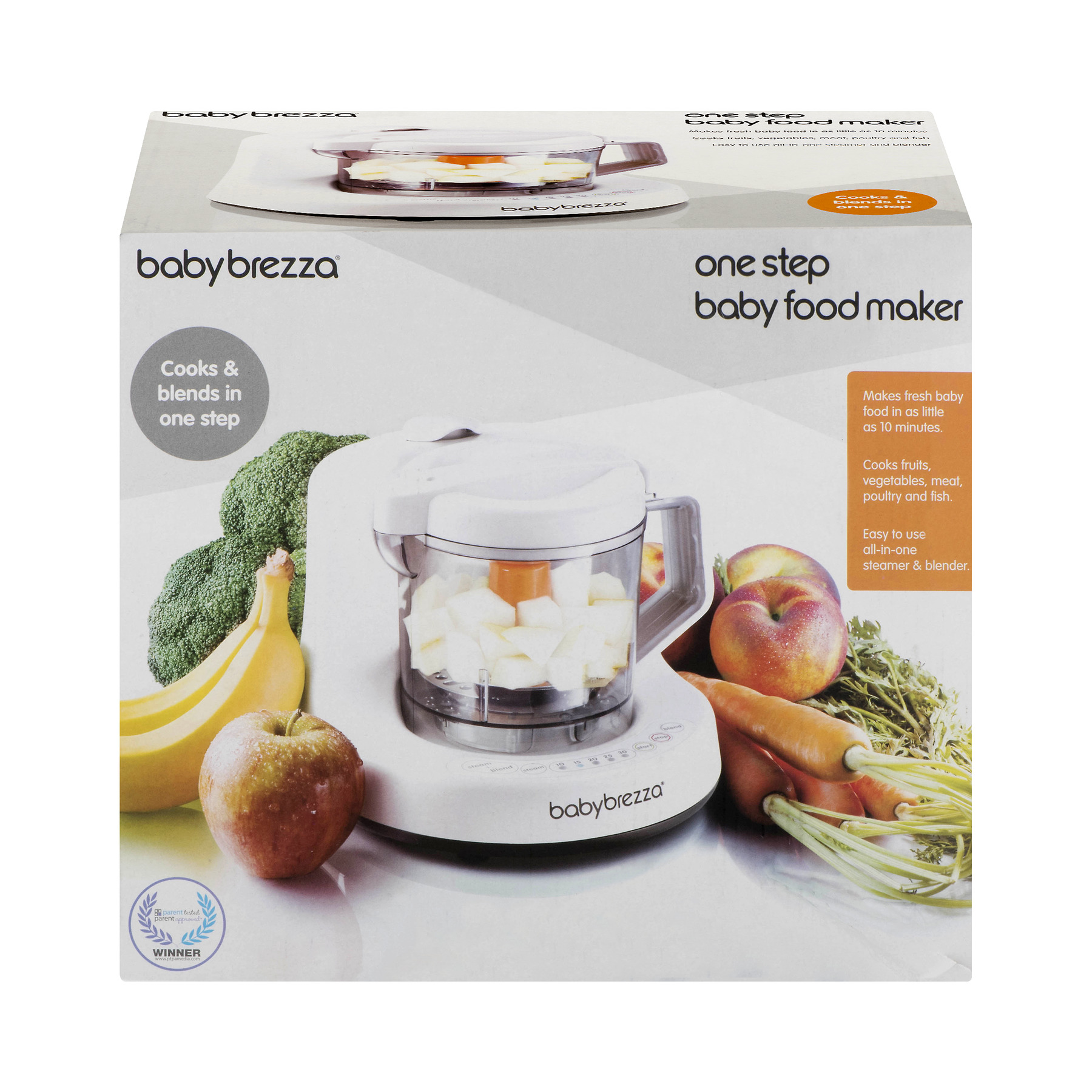 Click here to buy Baby Brezza 2-in-1 Baby Food Maker by Baby Brezza.
