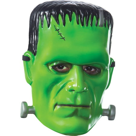 Universal Monsters Adult Frankenstein Mask Halloween Costume Accessory - The Mask Movie Halloween Costume