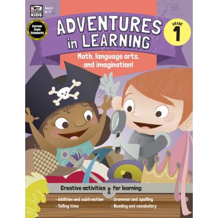 Adventures In Learning  Grade 1  Math  Language Arts  And Imagination   Ages 6 7