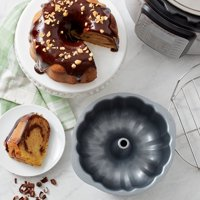 Instant Pot Official Fluted Cake Pan - Gray