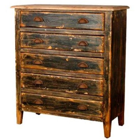 new pacific direct 387236db tuscany dresser 5 drawers distressed