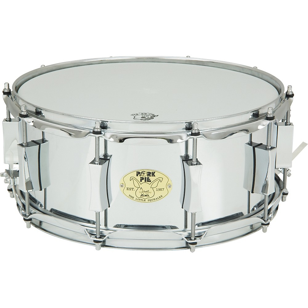 Pork Pie Little Squealer Steel Snare Drum 14 x 6 in. by Pork Pie
