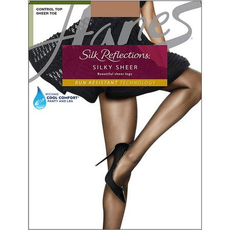Silk Reflections Womens Lasting Sheer Control Top
