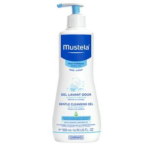 Mustela Baby Gentle Cleansing Gel, Body and Hair Wash, 16.9 Oz