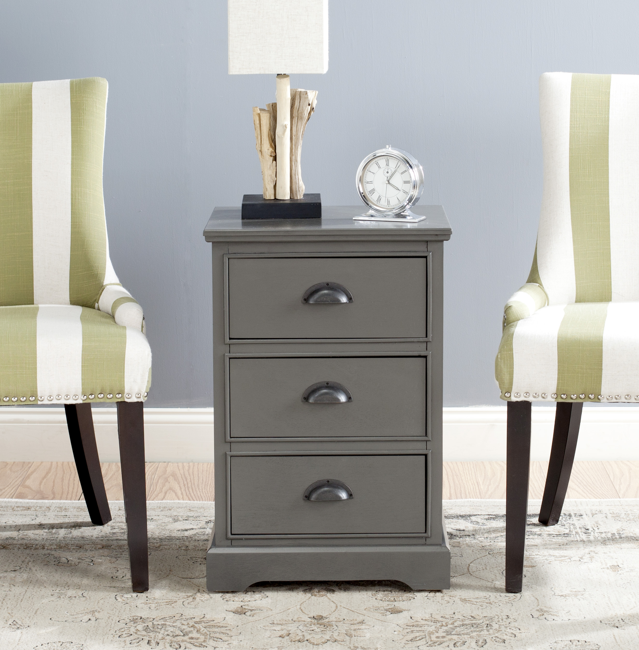 Safavieh Griffin 3-Drawer Side Table