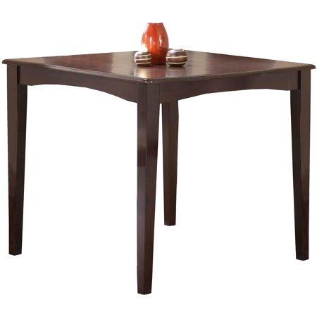 Hillsdale Tiburon Gathering Height Dining Table  Espresso