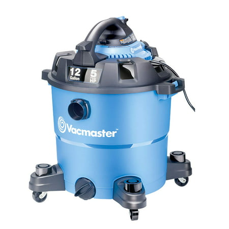 Vacmaster 12 Gallon, 5 Peak HP, Wet/Dry Vacuum with Detachable Blower,