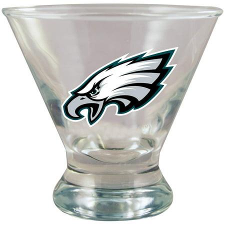 Philadelphia Eagles Martini Glass - No Size