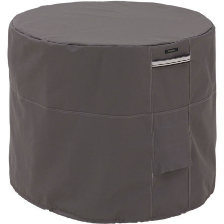 Classic Accessories Ravenna Round Air Conditioner Storage Cover, Taupe