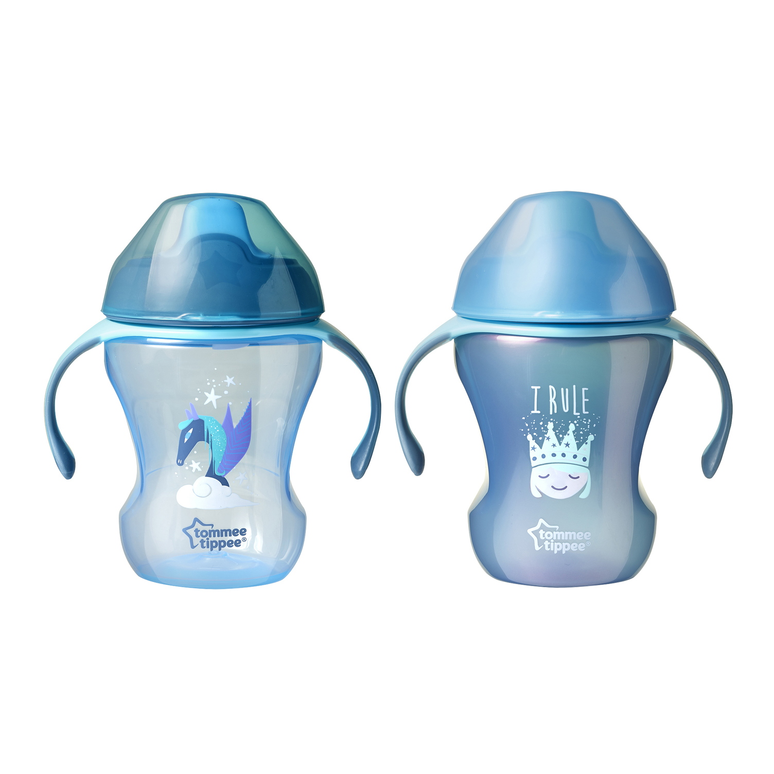 Tommee Tippee Infant Trainer Sippee Cup, 7+ months � 8 ounces, 2 count (Colors May Vary) by Tommee Tippee