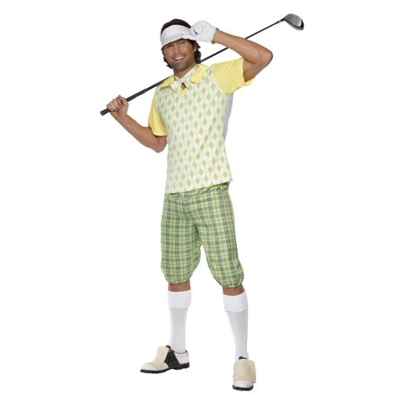 Mens Gone Golfing Costume - Golf Knickers Costume