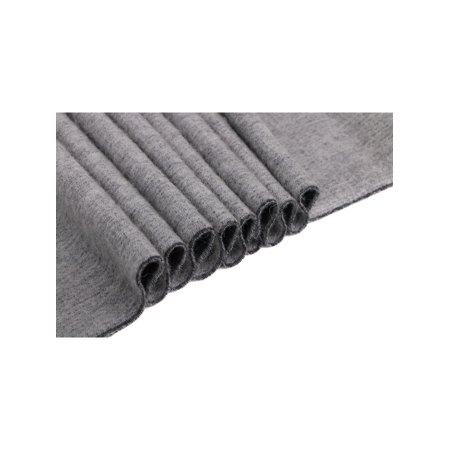 Cashmere Scarf for Men w Gift Box,Grey & Heather Grey Reversible