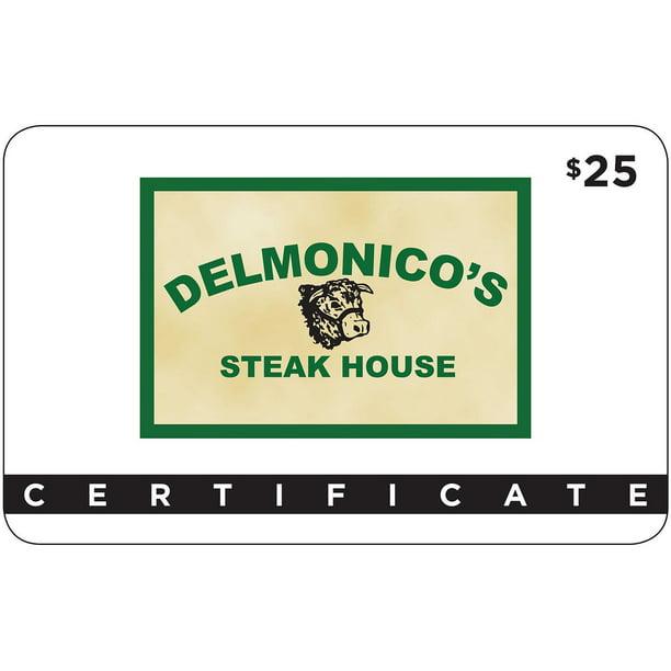 Delmonico S Steak House 2 X 25 For 40 Walmart Com Walmart Com