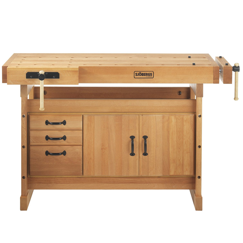 Sjobergs SJO-66736K 74 x 23-Inch Scandi Plus Workbench and Storage Cabinet Combo by SJOBERGS