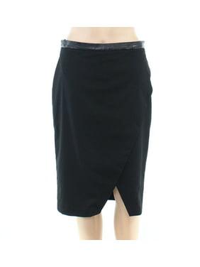 Womens Skirt Night Straight Pencil Slit-Hem 4
