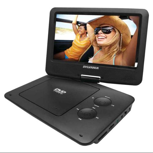 Portable DVD Player with 5-Hour Battery in Black