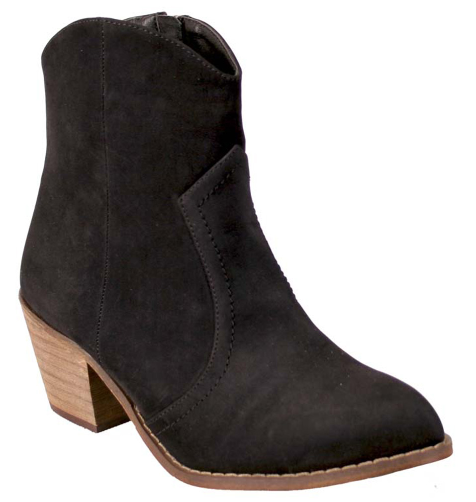 Nomad Women's Sundance Comfort Ankle Black Boots 5.5 M by