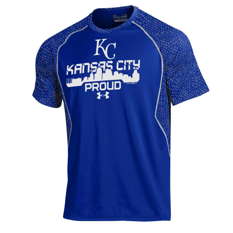 Kansas City Royals Under Armour Apex Print Performance T-Shirt - Royal