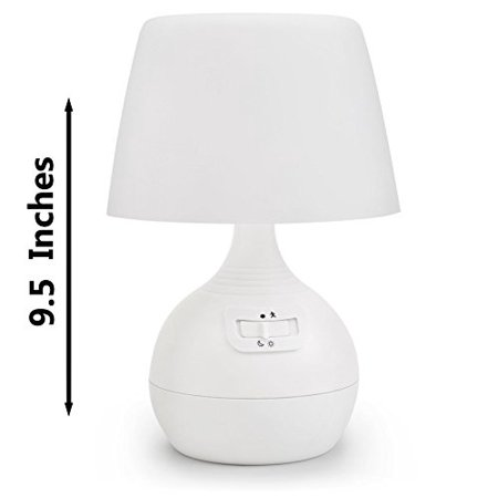 Ivation 12 Led Battery Operated Motion Sensing Table Lamp