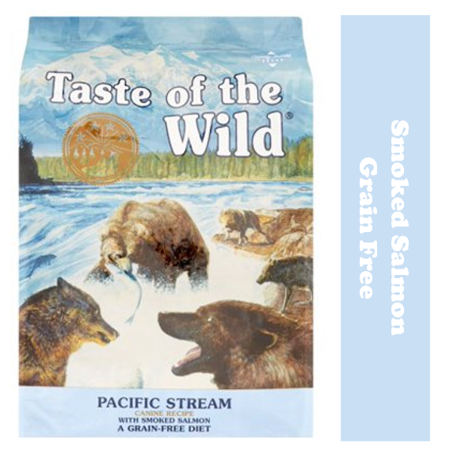 Taste of the Wild Pacific Stream Grain-Free Dry Dog Food, 28 (Taste Of The Wild Pacific Stream Salmon)