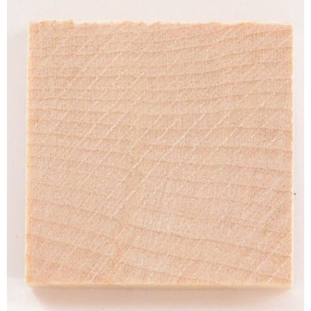 Package Of 10, Hardwood Square 1