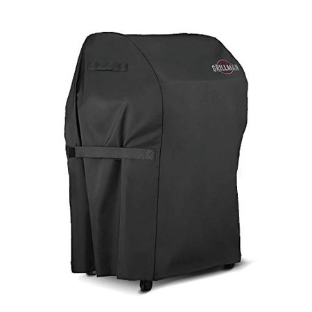 """Grillman Premium BBQ Grill Cover, Heavy-Duty Gas Grill Cover for Weber, Brinkmann, Char Broil etc. Rip-Proof, UV & Water-Resistant (30"""" L x 26"""" W x 43"""" H)"""