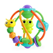 Bright Starts Clack & Slide Activity Ball Toy, Ages 6 months +