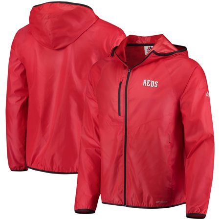 Cincinnati Reds Majestic Weakness is a Choice Full-Zip Jacket -