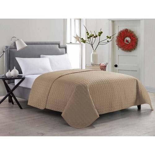 VCNY Home Jackson Geometric Circle-Stitched Bedding Quilt, Multiple Colors Available
