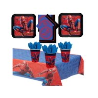 Spider Man Birthday Party Kit for 16 Guests