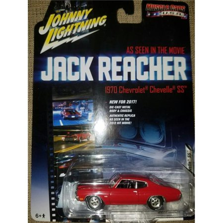 Johnny Lightning Jack Reacher 1/64 Scale 1970 Chevy Chevelle SS Diecast Model (1970 Chevy)