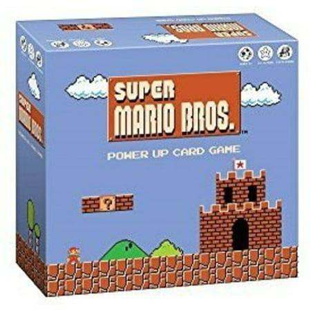 Super Mario Bros. Power Up Card Game - Mario Cards