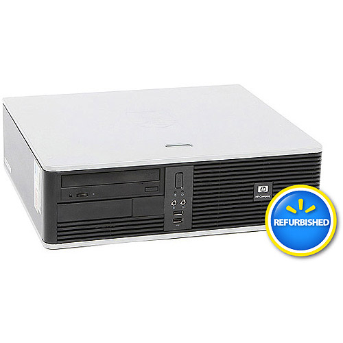 Refurbished HP DC5700 Small Form Factor Desktop PC with Intel Pentium D Processor, 2GB Memory, 80GB Hard Drive and Windows 7 Home Premium (Monitor Not Included)