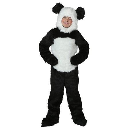 Child Deluxe Panda Costume - Diy Panda Costume