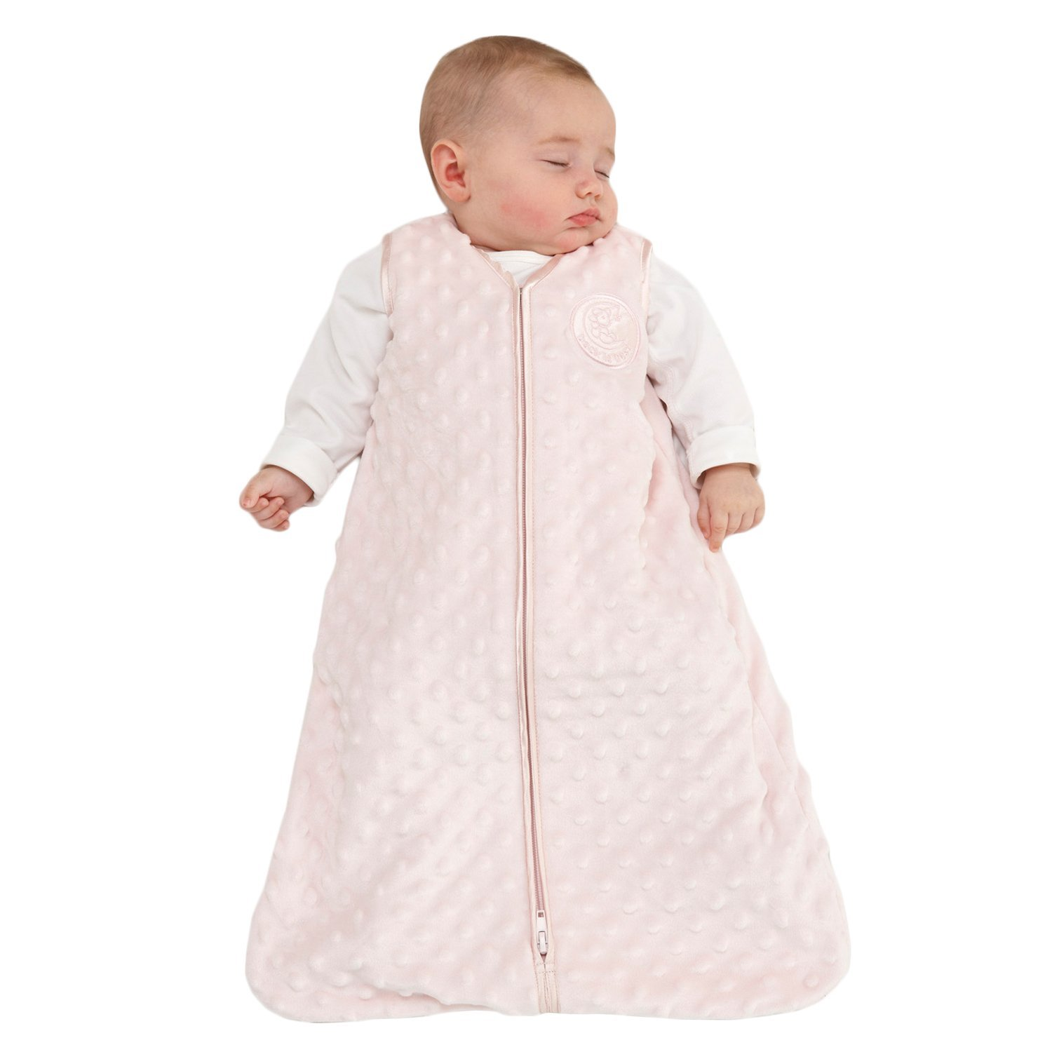 release date: fae16 604b3 SleepSack Plush Dot Velboa Wearable Blanket, Pink, Small..., By Halo Ship  from US