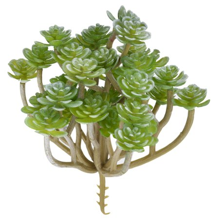 Outgeek Artificial Plants Simulated Succulent Fake Decorative Succulents Unpotted for Home Living Room Office Indoor Garden Outdoor Wedding Party Decor DIY