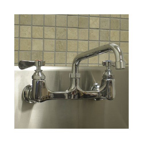 aline by advance tabco equip wall mounted utility sink faucet