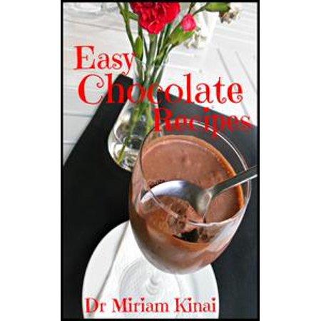 Easy Chocolate Recipes - eBook - White Chocolate Mousse Recipe