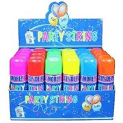 Blue Box Party String - not Silly String - 12 Cans, Don't be crazy... Buy the Party Strin, By WhoaStuff