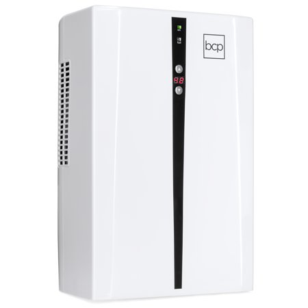 Best Choice Products Portable Thermo-Electric Dehumidifier for 2,200 Cubic Feet Room, Basement, RV, Bathroom with 2L/67.6oz Capacity Tank, Auto Humidistat,
