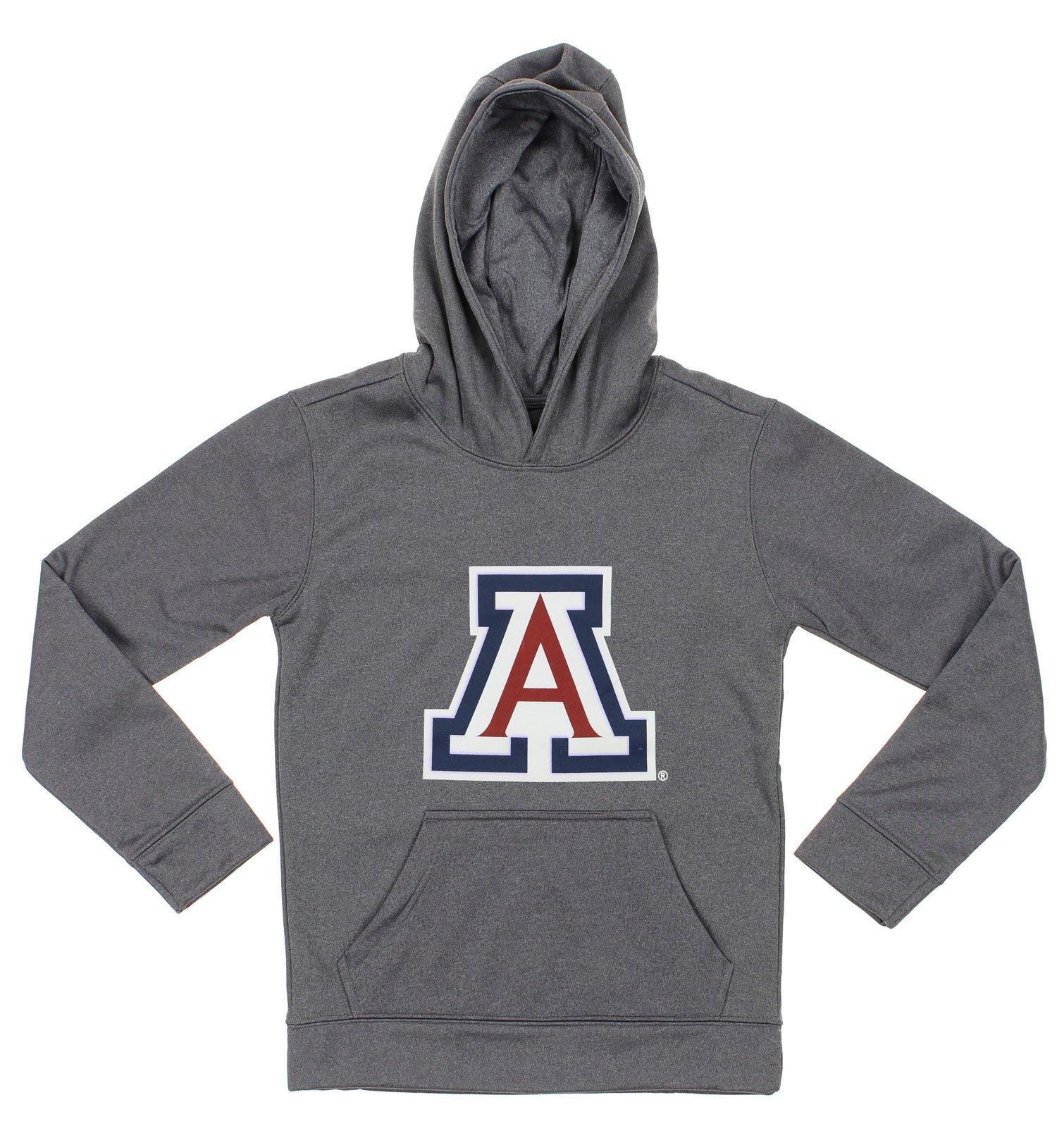 NCAA Youth Arizona Wildcats Pullover Grey Hoodie