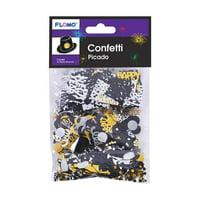 DDI 2319897 New Year Confetti, Assorted Color - Case of 48