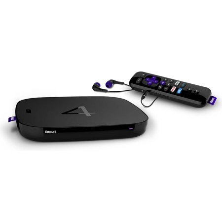 Roku 4400X 4 Streaming Media Player, Refurbished