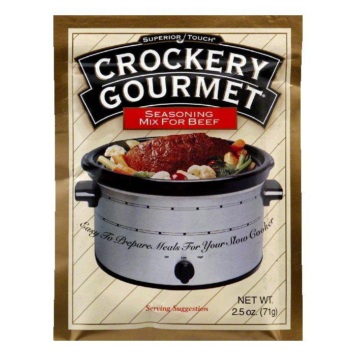 Crockery Gourmet Beef Crockery Cooking Seasoning Mix, 2.5 OZ (Pack of 12)