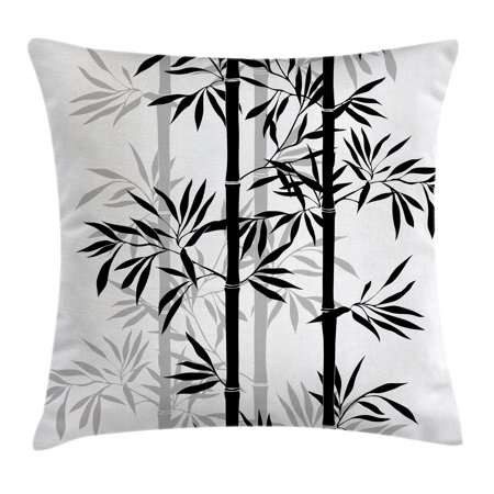 Tree Of Life Throw Pillow Cushion Cover Silhouette Of