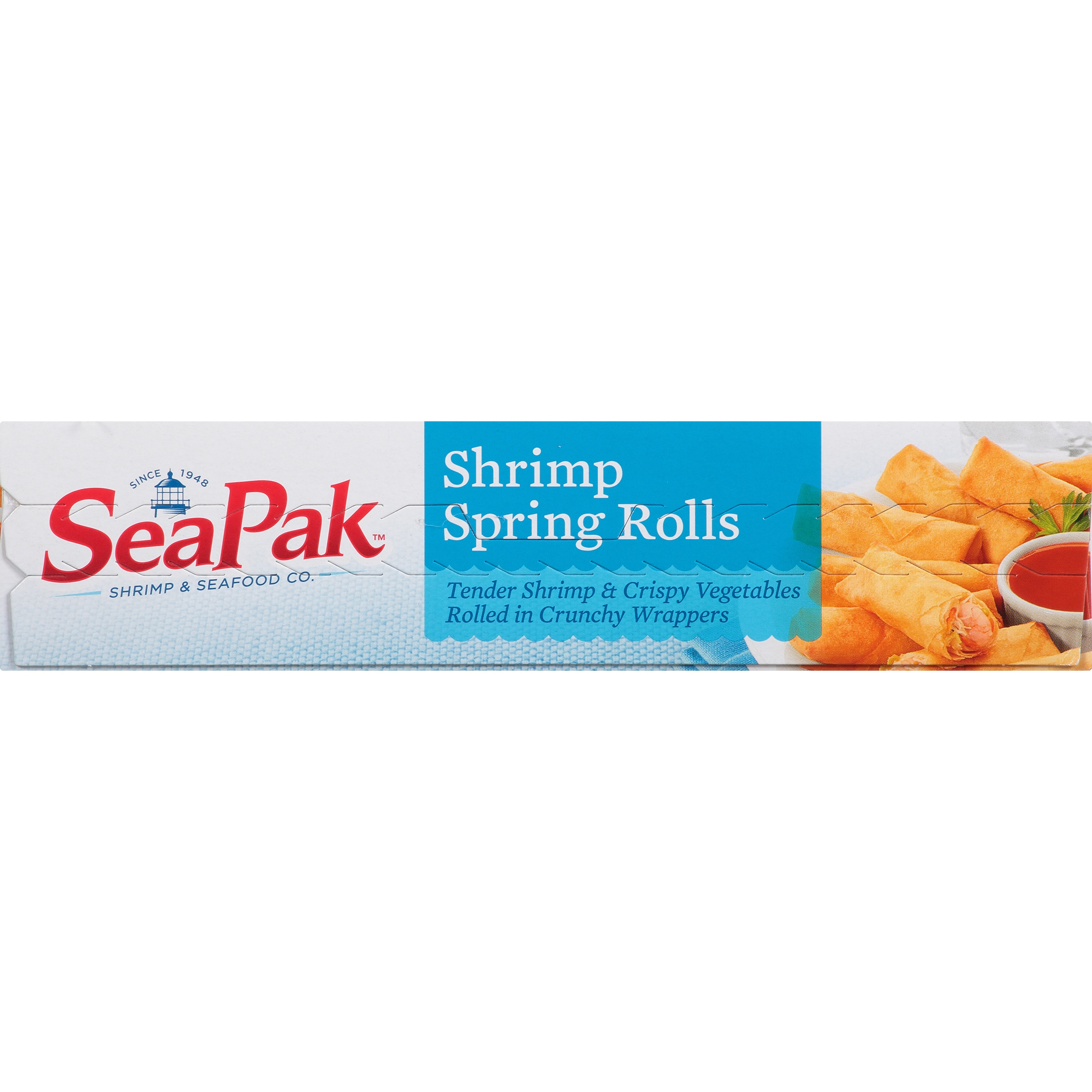SeaPak Shrimp Spring Rolls with Dipping Sauce, 16 Count, 20 oz ...