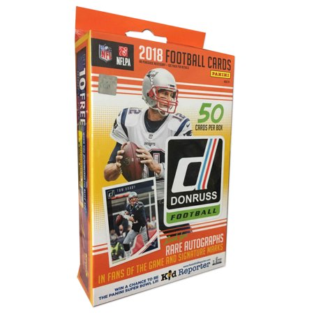 2018 Panini NFL Football Donruss Hanger Box