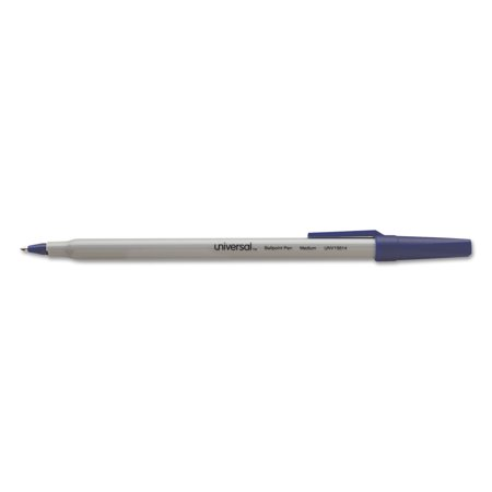 Universal Economy Ballpoint Stick Oil-Based Pen, Blue Ink, Medium, 60/Pack
