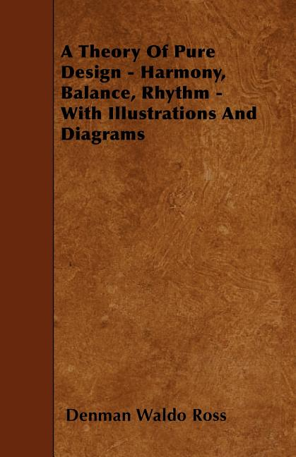 A Theory Of Pure Design - Harmony  Balance  Rhythm - With Illustrations And Diagrams