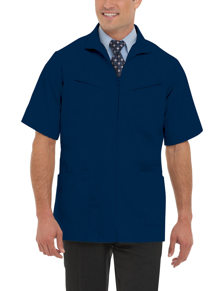 Landau - Landau Men's Professional Short Sleeve Scrub ...